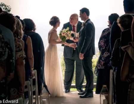 !!!!Elle and Nick Clear Mountain Wedding with Brisbane Celebrant Michael Janz