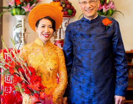 Pauline Fawkner Celebrant – XuanJochen-Tea Ceremony