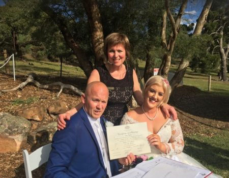 Mary Odgers Marriage Celebrant