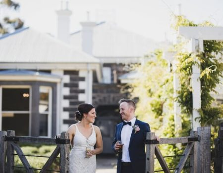 Lauren & William  -eynesbury homestead