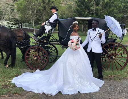 Champagne Wedding Carriages
