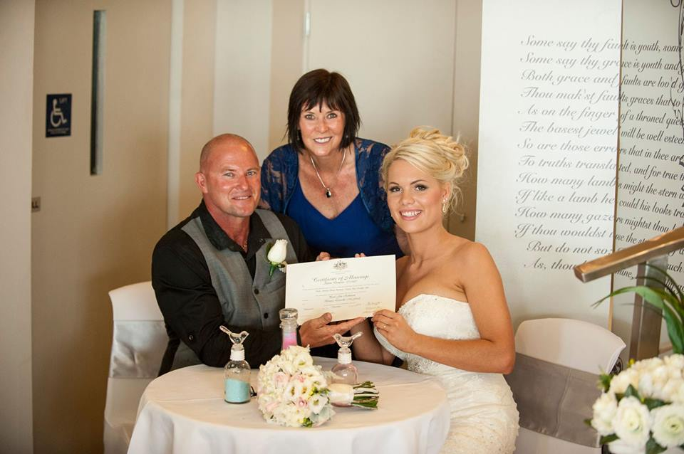 Alison Dempster marriage celebrant