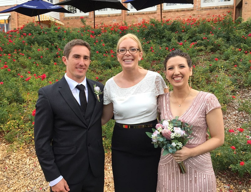 Erin Rollason marriage celebrant