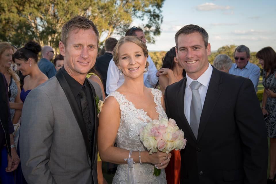 Jarryd Bayliss marriage celebrant