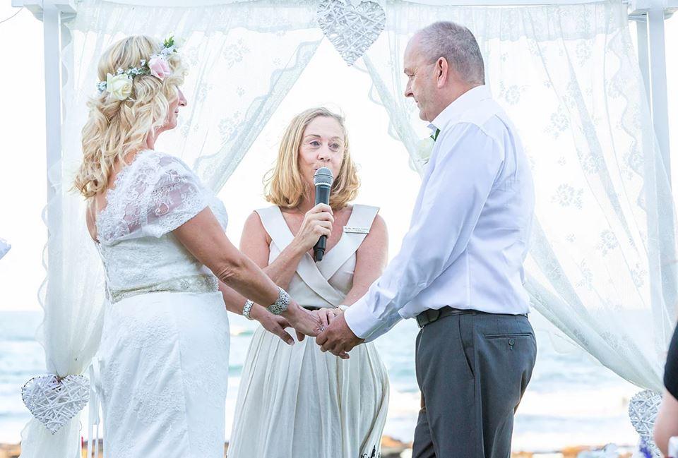Michelle Collins marriage celebrant
