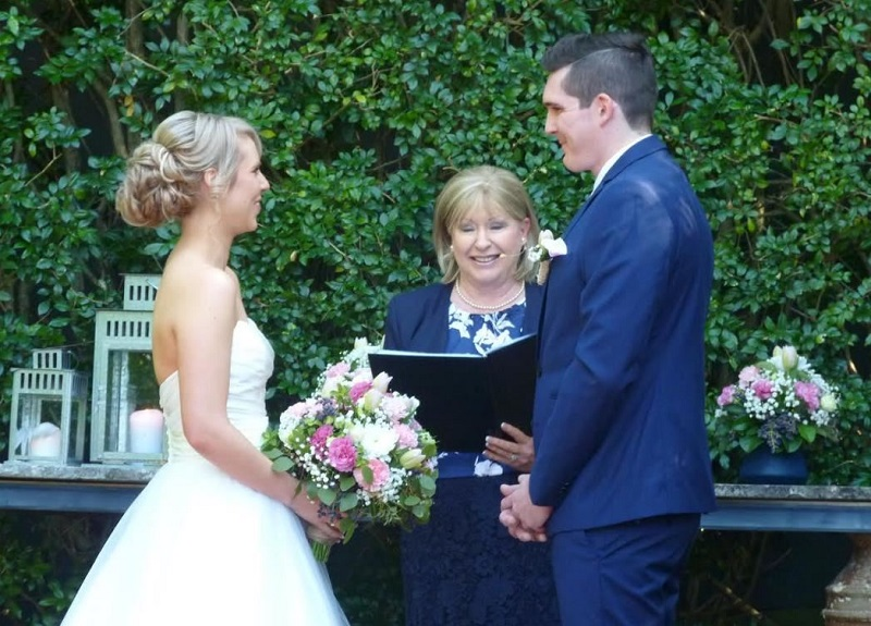 Sabina O'Donoghue marriage celebrant