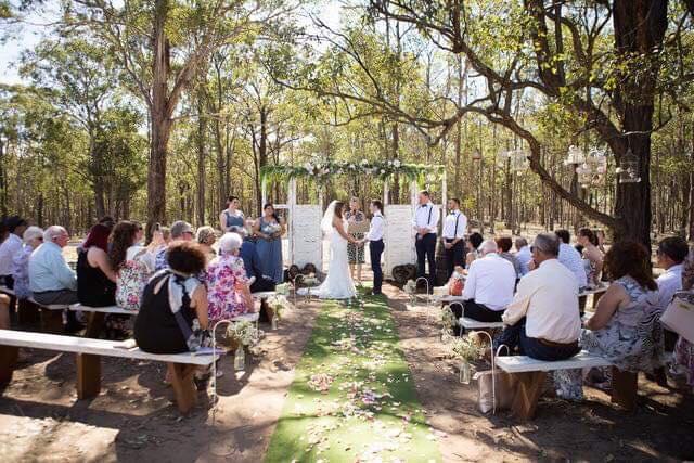 kookaburra hideaway wedding