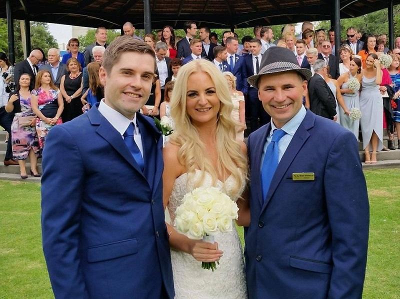 Brad Whitelock marriage celebrant
