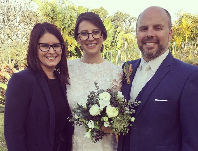 Bree Nicholls marriage celebrant