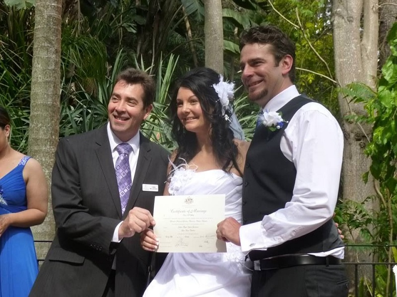 Chris McCafferty marriage celebrant