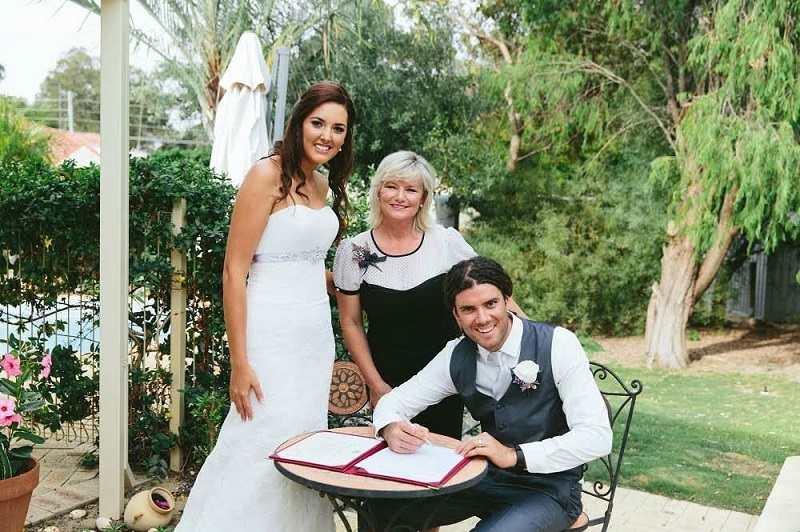 Joyce Mathers marriage celebrant