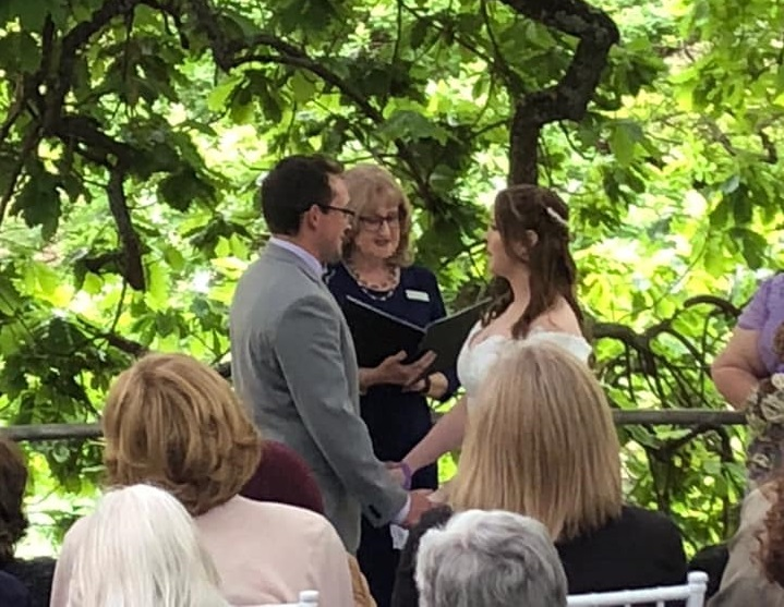 Julie and Jenny marriage celebrant