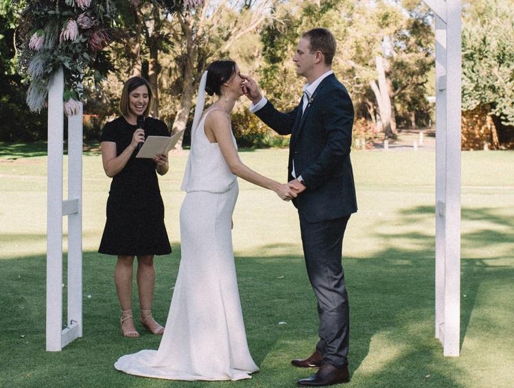 Megan Knox marriage celebrant