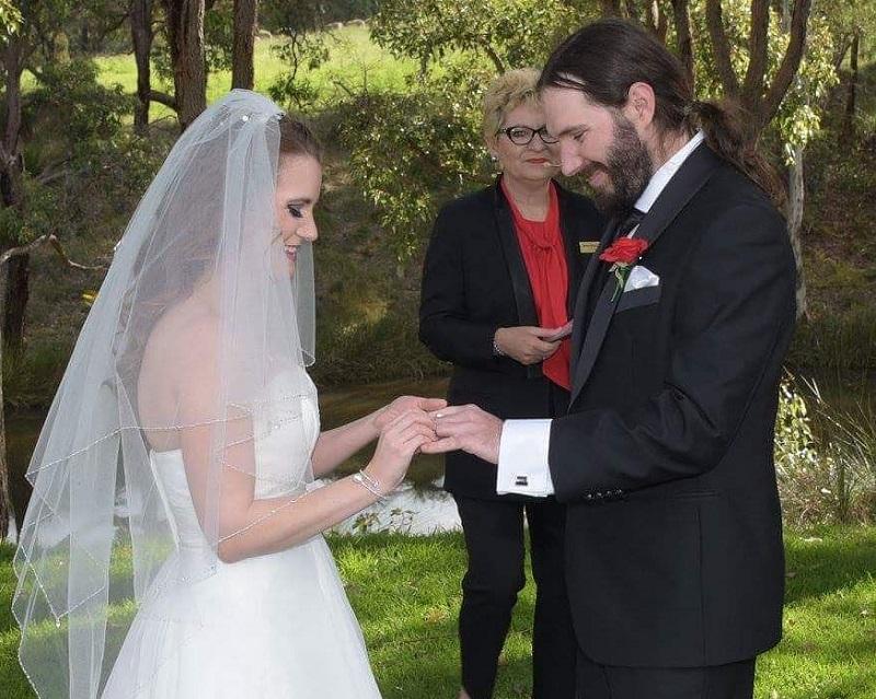 Monicka McDonough marriage celebrant