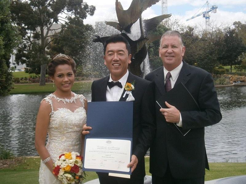 Rodney Barnes marriage celebrant