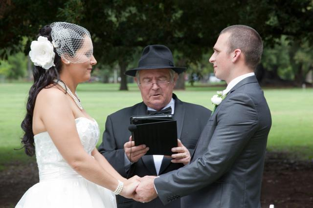 Tony Nolan marriage celebrant