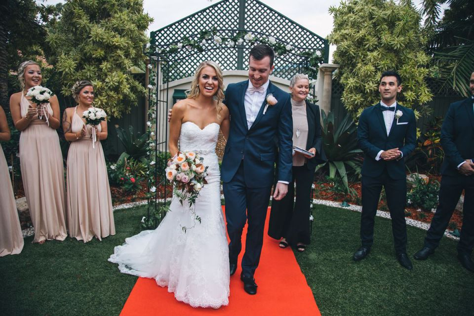 Brisbane Weddings at The Golden Ox