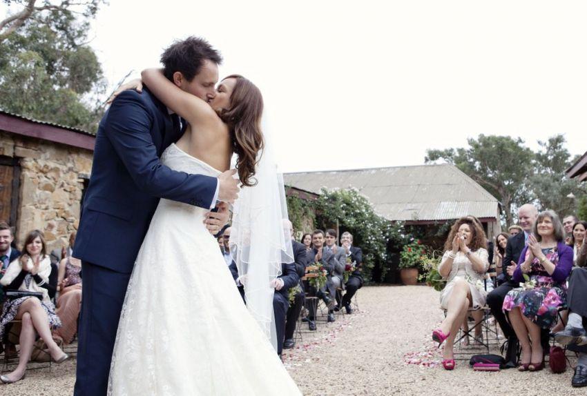 panton hill vineyard wedding