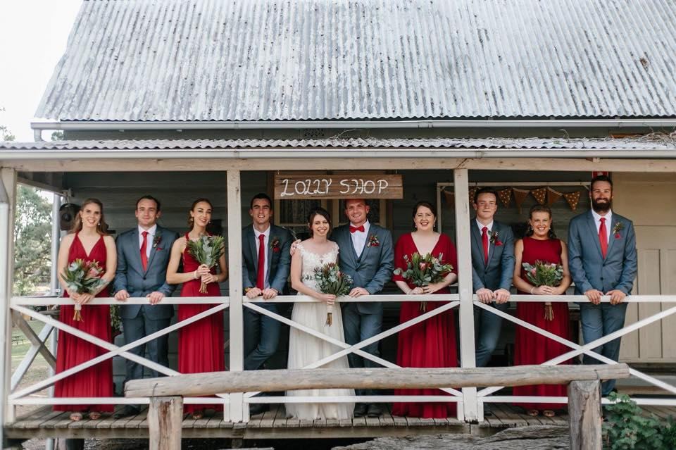 rustic weddings sydney australiana pioneer village