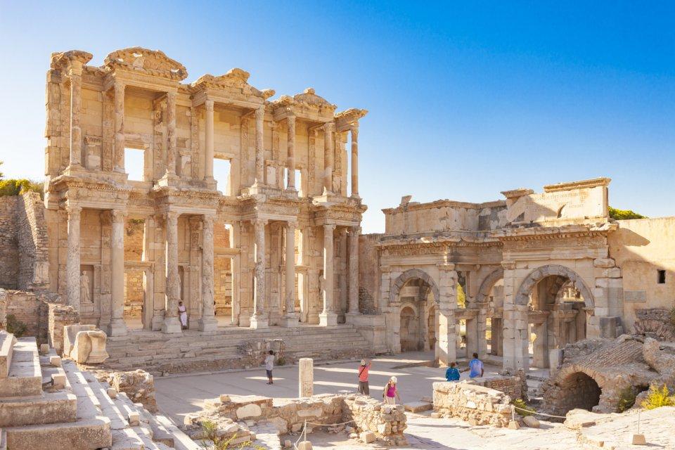 Kusadasi Library of Celsus Ephesus
