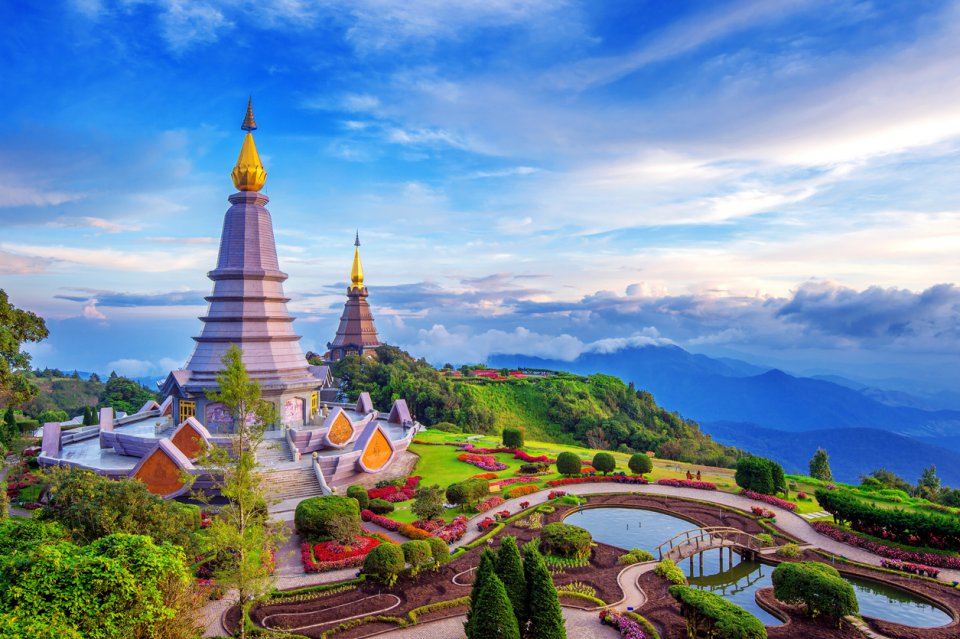 Doi Inthanon National park at Chiang Mai