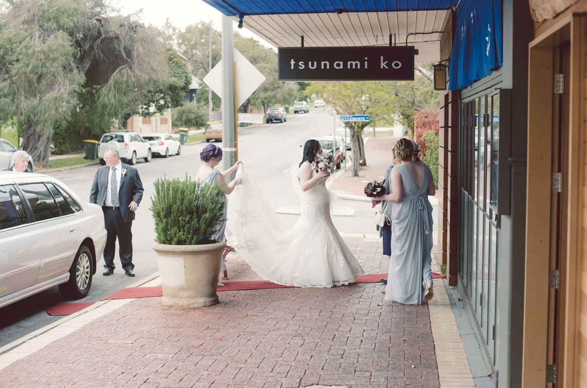 Tsunami mosman park weddings