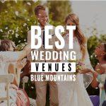best wedding venues blue mountains